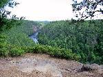 River Canyon - 7600 km2 de salbaticie. Algonquin Provincial Park - Ontario Canada