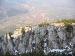 Zarnestiul vazut de pe Piatra Mica