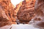 Canionul din Petra (Siq)