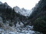 Valea Bucsoiului vazuta din Poiana Bucsoiului
