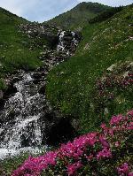 Cascada Lala si Vf-ul Ineu