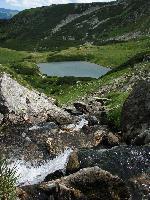 Cascada si Lacul Lala Mare