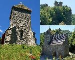 Biserica Manastirii Colt si ruinele Cetatii Colt