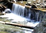 Cascada pe valea Pojortei