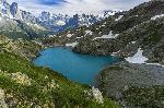 Poveste din Alpi - Lac Blanc