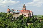 Castelul medieval Ksi¹¿ (Muntii Walbrzyskie - Sudeti) in Polonia