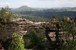 PravèickĂĄ brĂĄna - Poarta PravèickĂĄ (Muntii ÈeskĂŠ ŠvĂ˝carsko - Munții Elbei) in Cehia