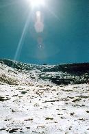 Statia Meteo Omu vazuta din Valea Morarului