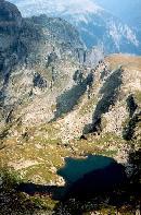Lacul Elenski vazut de pe varful Maliovitza