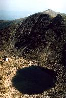 Lacul Ledenoto vazut de pe varful Mussala