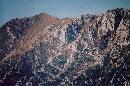 Varful La Om (Piscul Baciului) vazut din Poiana Zanoaga