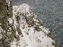 Portita Caraimanului vazuta de pe platou