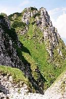 Vedere de la intrarea in Braul de mijloc