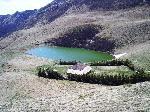 Lacul Vulturilor si Cabana silvica