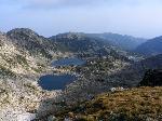 Salbã de lacuri glaciare sub vârful Musala