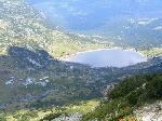 Lacul Dolno Ribno Âşi cabana Ribni Ezera (2230 m)