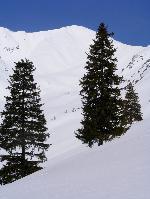 Spre vârful Lespezi