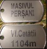 Medalion micuț gravat