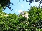 Peisaj din Cheile Vârghiºului
