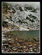 Lacul Mija in pragul iernii