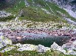 Lacul de origine glaciara Gauri II - 2069m