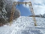 ski pas catre cer