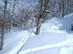 drumul pe schiuri