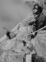 Coborand din nori (Creasta Leone - Matterhorn)