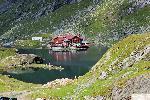 Cabana Balea Lac vedere dinspre Saua Paltinului