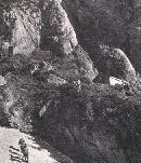 Refugiul Costila in '73 (poze preluate din almanahul turistic 60-70); autor nespecificat