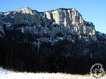 Vedere spre Ceahlau de la Izvorul Muntelui