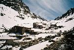 Refugiul Toubkal (cunoscut ca Refugiul Neltner inainte vreme) - 3207 m. alt.