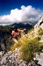 M. Prokletije (Munetenegru / Albania) - Coborand de pe Vf. Ocnjak
