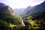 M. Durmitor (Muntenegru) - Raul Tara, vedere spre Bosnia