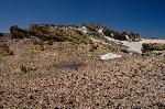 Craterul si punctul de altitudine maxima din M. Demavend - 5671 m. (spre sud)