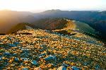 Dis-de-dimineata in jos de pe Vf. Plescoaia spre Plescoaia Sud si tot la vale...