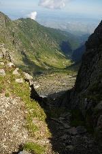 Privind spre Valea Viștișoara.