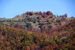 Catunul de deasupra coamelor Doabrelor.Zona cuprinsa in Parcul National Cozia
