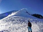 Summit day, wind 80-90 km/h