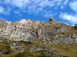 peretele Morarului vazut din valea Crebului