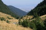 valea Vistei, spre nord