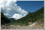 stanca secului, de pe viitorul baraj rastolita, in calimani