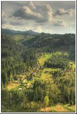 De pe Stanca Soimilor, vedere spre muntii Gurghiu, intr-o scurta plimbare de 1 mai