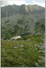 Lacul Viorica si muchia Ascutita