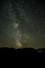 Noapte peste Retezat