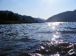 Aprope de apa lacului